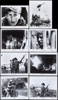 "Movie Posters:War, Apocalypse Now (United Artists, 1979). Photos (8) (8"" X 10""). War..... (Total: 8 Items)"