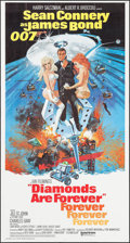 "Movie Posters:James Bond, Diamonds are Forever (United Artists, 1971). International ThreeSheet (41"" X 77"") Robert McGinnis Artwork. James Bond.. ..."