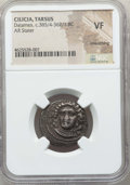 Ancients:Greek, Ancients: CILICIA. Tarsus. Datames (Tarkumuwa), as Satrap(385/4-362/1 BC). AR stater. NGC VF, smoothing....
