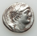 Ancients:Greek, Ancients: SELEUCID KINGDOM. Antiochus VII Euergetes-Sidetes(138-129 BC). AR tetradrachm (12.92 gm). VF, brushed, edgechips. ...