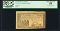 Colonial Notes:New Jersey, New Jersey March 25, 1776 1s John Hart Signature PCGS Choice About New 58.. ...