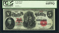 Large Size:Legal Tender Notes, Fr. 86 $5 1907 Legal Tender PCGS Very Choice New 64PPQ.. ...