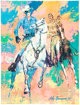 Leroy Neiman Lone Ranger and Tonto Abstract/Pop-Art Poster (Lone Ranger Television, 1981)