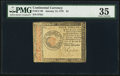 Colonial Notes:Continental Congress Issues, Continental Currency January 14, 1779 $4 PMG Choice Very Fine 35.....