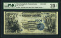 National Bank Notes:Pennsylvania, Glen Campbell, PA - $50 1882 Date Back Fr. 563 The First NB Ch. #(E)5204. ...