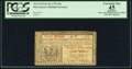 Colonial Notes:New Jersey, New Jersey February 20, 1776 30s John Hart Signature PCGS Apparent Extremely Fine 45.. ...