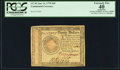 Colonial Notes:Continental Congress Issues, Continental Currency January 14, 1779 $20 PCGS Apparent ExtremelyFine 40.. ...
