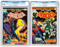 Bronze Age (1970-1979):Horror, Tomb of Dracula #22 and 27 Group (Marvel, 1974) CGC NM+ 9.6....(Total: 2 Comic Books)