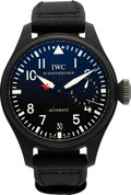 Timepieces:Wristwatch, IWC Grosse Fliegeruhr Top Gun Miramar Ref. 5019 For Restoration. ...