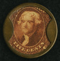 Encased Postage, HB-131 EP-78 5¢ J. Gault Extremely Fine-About New.. ...