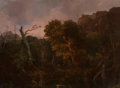 Fine Art - Painting, American, William Louis Sonntag (American, 1822-1900). OhioWilderness, 1846. Oil on canvas. 36 x 48 inches (91.4 x 121.9cm). Sig...