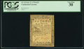 Colonial Notes:Continental Congress Issues, Continental Currency February 17, 1776 $2/3 PCGS Very Fine 30.. ...