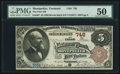 National Bank Notes:Vermont, Montpelier, VT - $5 1882 Brown Back Fr. 467 The First NB Ch. # 748. ...