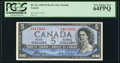 Canadian Currency: , BC-31a $5 1954 Devil's Face. ...