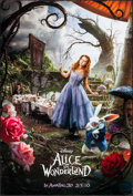 """Movie Posters:Fantasy, Alice in Wonderland (Walt Disney Pictures, 2010). One Sheets (2)(27"""" X 40"""") DS Mad Hatter & Alice Advance Styles. Fantasy....(Total: 2 Items)"""