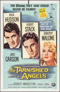 "The Tarnished Angels (Universal International, 1958). Folded, Fine/Very Fine. One Sheet (27"" X 41""). Drama..."
