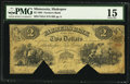 Shakopee, MN- Farmers Bank $2 Sep. 1, 1864 G4 Hewitt B800-D2
