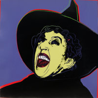 Andy Warhol (1928-1987) The Witch, from Myths, 1981 Screenprint in colors with diamond du