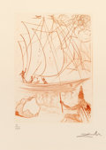Fine Art - Work on Paper:Print, Salvador Dalí (1904-1989). Much Ado about Shakespeare, 1968.Complete set of 15 works. Engravings on Rives BFK paper, wi...