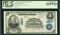 National Bank Notes:Colorado, Denver, CO - $5 1902 Plain Back Fr. 609 The American NB Ch. # 12517. ...