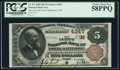 National Bank Notes:Ohio, North Baltimore, OH - $5 1882 Brown Back Fr. 471 The First NB Ch. # (M)4347. ...