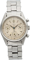 "Timepieces:Wristwatch, Rolex, Ref. 6234, ""Anti-Magnetic"" Oyster Chronograph, circa 1959. ..."