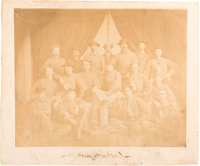 """Mosby and His Men"" Mammoth Plate Salt Print Circa 1863"