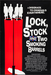 """Lock, Stock and Two Smoking Barrels (Gramercy, 1999). One Sheet (27"""" X 40"""") DS. Crime"""