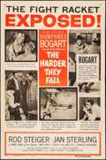"""Movie Posters:Drama, The Harder They Fall (Columbia, 1956). One Sheet (26.75"""" X 40.75"""") Style B. Drama.. ..."""