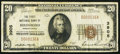 National Bank Notes, Birdsboro, PA - $20 1929 Ty. 1 The First NB Ch. # 3905. ...