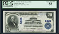 National Bank Notes:West Virginia, Saint Marys, WV - $20 1902 Plain Back Fr. 658 The First NB Ch. # 5226. ...