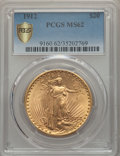 Saint-Gaudens Double Eagles: , 1912 $20 MS62 PCGS Secure. PCGS Population: (1229/1736 and 10/71+). NGC Census: (966/528 and 1/8+). CDN: $1,500 Whsle. Bid ...