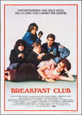 "Movie Posters:Drama, The Breakfast Club (UIP, 1985). Italian 2 - Fogli (39.25"" X 55.25""). Drama.. ..."