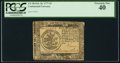 Colonial Notes:Continental Congress Issues, Continental Currency February 26, 1777 $5 PCGS Extremely Fine40PPQ.. ...