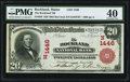 National Bank Notes:Maine, Rockland, ME - $20 1902 Red Seal Fr. 639 The Rockland NB Ch. #(N)1446. ...