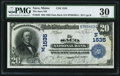 National Bank Notes:Maine, Saco, ME - $20 1902 Date Back Fr. 642 The Saco NB Ch. # (N)1535....