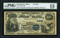 National Bank Notes:Maine, Farmington, ME - $10 1882 Value Back Fr. 577 The Peoples NB Ch. #(N)5861. ...