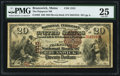 National Bank Notes:Maine, Brunswick, ME - $20 1882 Brown Back Fr. 494 The Pejepscot NB Ch. #1315. ...
