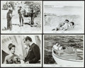 "Movie Posters:James Bond, Dr. No (United Artists, R-1966). Photos (4) (8"" X 10""). JamesBond.. ... (Total: 4 Items)"