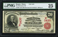 National Bank Notes:Maine, Bangor, ME - $20 1902 Red Seal Fr. 639 The Merchants NB Ch. #(N)1437. ...