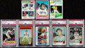 Baseball Cards:Lots, 1973 - 1980 Topps Baseball Star Collection (30). . ...