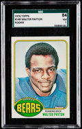 Football Cards:Singles (1970-Now), 1976 Topps Walter Payton #148 SGC 84 NM 7.. ...