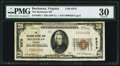 National Bank Notes:Virginia, Buchanan, VA - $20 1929 Ty. 1 The Buchanan NB Ch. # 9375. ...