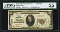National Bank Notes:Pennsylvania, Sipesville, PA - $20 1929 Ty. 1 The First NB Ch. # 11849. ...