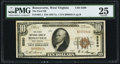 National Bank Notes:West Virginia, Ronceverte, WV - $10 1929 Ty. 1 The First NB Ch. # 5280. ...