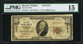 National Bank Notes:Virginia, Bassett, VA - $10 1929 Ty. 1 The First NB Ch. # 11976. ...