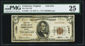 National Bank Notes:Virginia, Yorktown, VA - $5 1929 Ty. 1 The First NB Ch. # 11554. ...