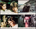 """Movie Posters:Science Fiction, Star Wars (20th Century Fox, 1977). Mini Lobby Cards (4) (8"""" X10""""). Science Fiction.. ... (Total: 4 Items)"""