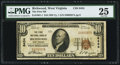 National Bank Notes:West Virginia, Richwood, WV - $10 1929 Ty. 1 The First NB Ch. # 8434. ...