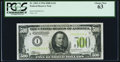Fr. 2201-I $500 1934 Light Green Seal Federal Reserve Note. PCGS Choice New 63